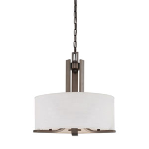 Pendenza Oiled Bronze Three-Light Pendant