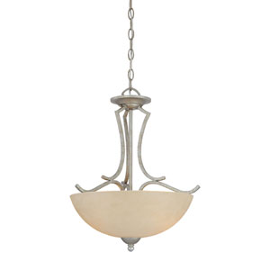 Triton Moonlight Silver Two-Light Pendant