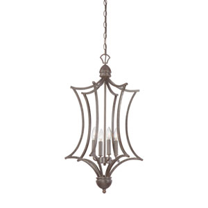 Triton Sable Bronze Four-Light Pendant