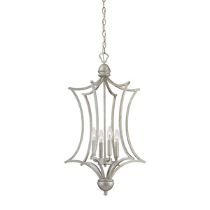 Triton Moonlight Silver Four-Light Pendant