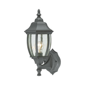 Covington Black 14-Inch Outdoor Wall Sconce