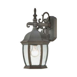 Covington Painted Bronze 16-Inch Outdoor Wall Sconce