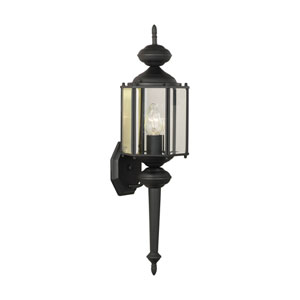 Brentwood Black 26-Inch Outdoor Wall Sconce