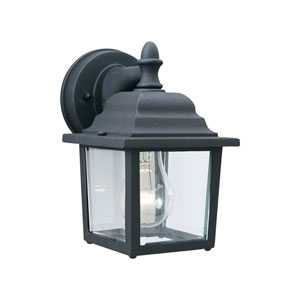 Hawthorne Black Nine-Inch Outdoor Wall Sconce