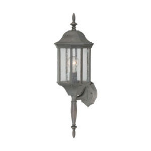 Hawthorne Painted Bronze 26-Inch Outdoor Wall Sconce