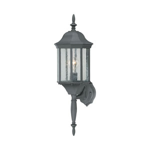 Hawthorne Black 26-Inch Outdoor Wall Sconce