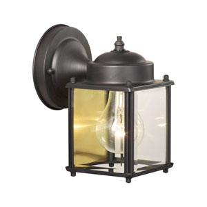 Essentials Painted Bronze Outdoor Wall Sconce