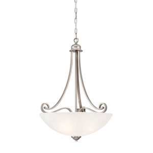 Haven Satin Pewter 17-Inch Pendant
