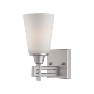 Wright Matte Nickel Wall Sconce