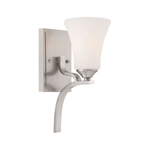 Treme Brushed Nickel Wall Sconce