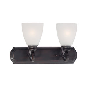 Haven Espresso Two-Light Wall Sconce