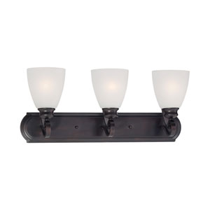 Haven Espresso Three-Light Wall Sconce