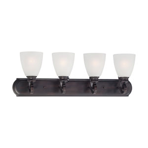 Haven Espresso Four-Light Wall Sconce