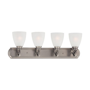 Haven Satin Pewter Four-Light Wall Sconce