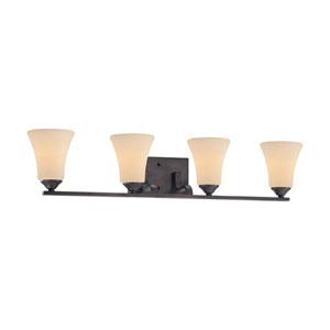 Treme Espresso Four-Light Wall Sconce