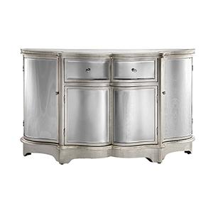 Rosalind Silver Leaf Cabinet