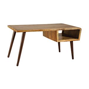 Orbit Hand-Painted Mango Wood Desk