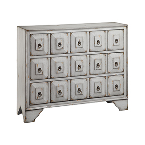 Mohala Hand-Painted Aegean Mist Chest