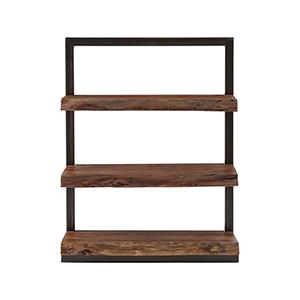 Climber Black and Wood Shelf