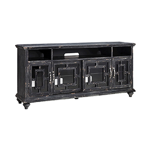Barado Black and Brown 72-Inch Console