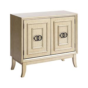 Knox Antique Silver Cabinet