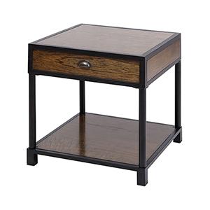 Pendleton Antique Brown Accent Table