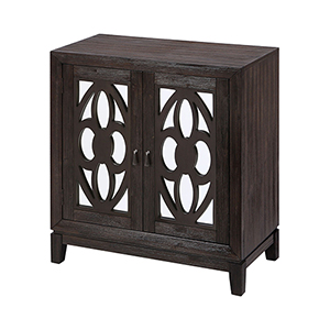 Boswell Grey Brown Acacia Cabinet
