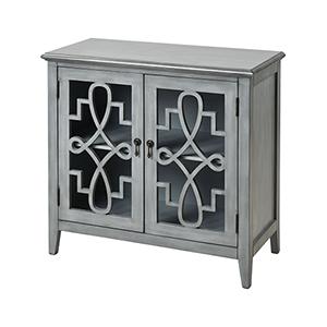 St. Raphael Grey Cabinet