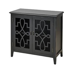 St. Raphael Black Cabinet