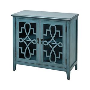 St. Raphael Blue Cabinet