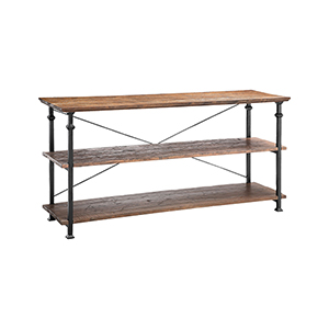 Poplar Estates Reclaimed Wood Console Table