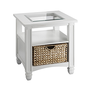 Nantucket White End Table