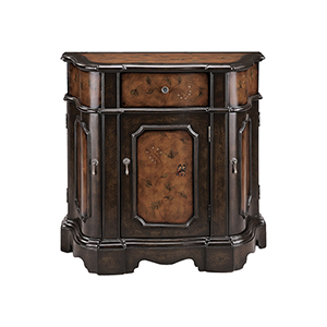 Autumn Hand-Painted Grapevine Cabinet