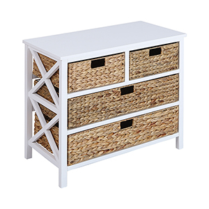 Pismo Beach White 30-Inch Chest