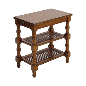 Seneca Falls Medium Warm Oak Accent Table
