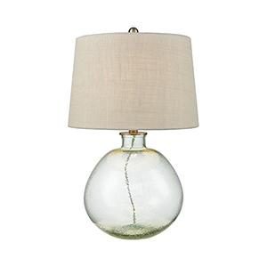 Bello Light Blue One-Light Table Lamp