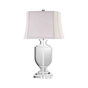Kit K-9 Crystal One-Light Table Lamp