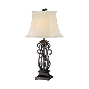 Suvan Brown One-Light Table Lamp