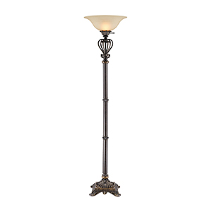 Lyon Bronze One-Light Floor Lamp