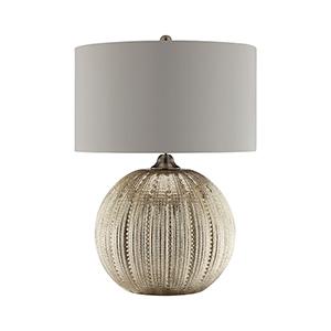 Simeon Silver Mercury One-Light Table Lamp