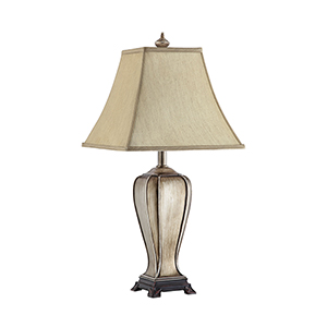 Meredith Champagne One-Light Table Lamp