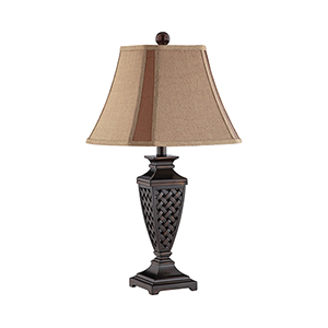 Colin Dark Bronze One-Light Table Lamp