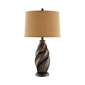 Robard Brown One-Light Table Lamp