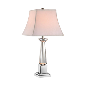 Gisele Crystal One-Light Table Lamp