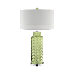 Romeo Green One-Light Table Lamp