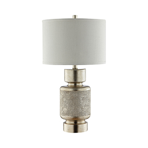 Carlyle Brushed Antique Gold One-Light Table Lamp