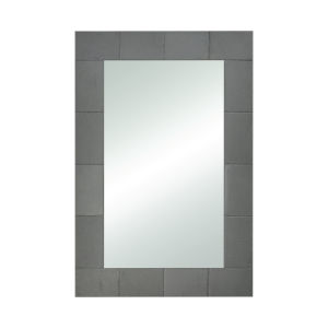 Slated Natural Grey Slate 24 x 36 Inch Wall Mirror