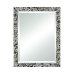 Crystalline Grey Agate 28 x 36 Inch Wall Mirror