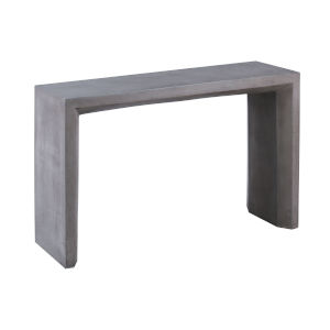 Chamfer Polished Concrete Console Table