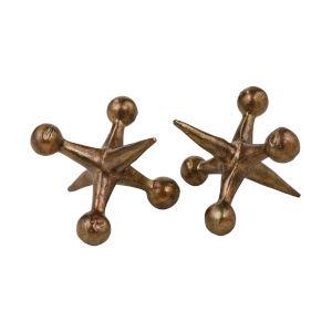 Jax Antique Copper Decorative Object